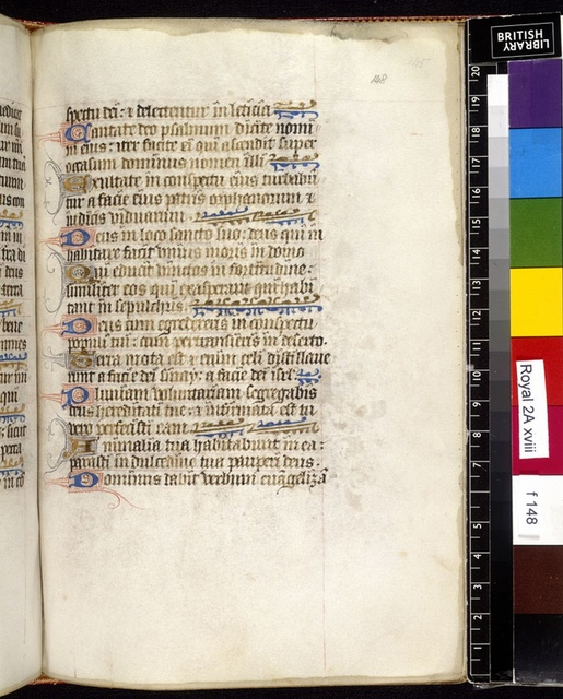 Text page from BL Royal 2 A XVIII, f. 148
