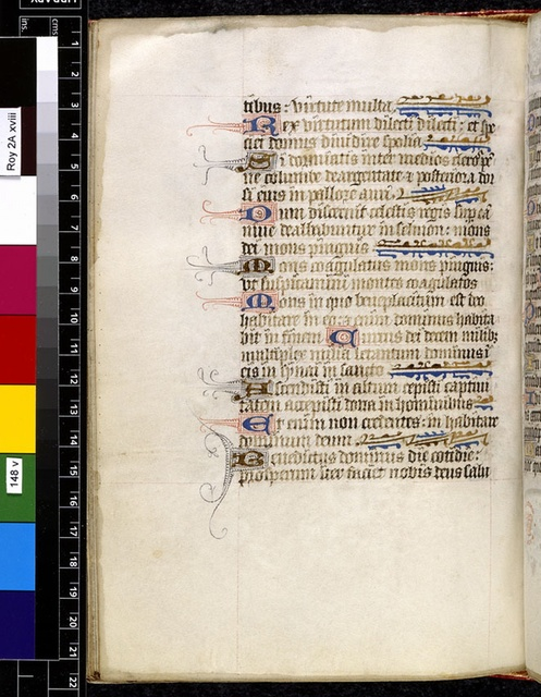 Text page from BL Royal 2 A XVIII, f. 148v