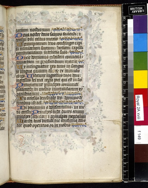 Text page from BL Royal 2 A XVIII, f. 149