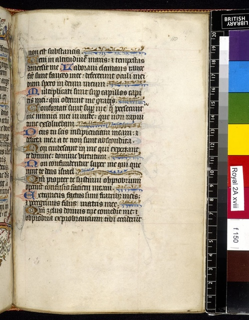 Text page from BL Royal 2 A XVIII, f. 150
