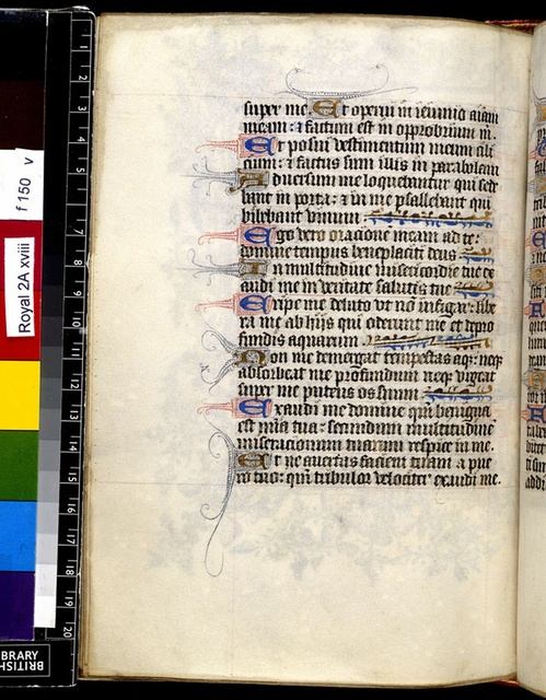 Text page from BL Royal 2 A XVIII, f. 150v