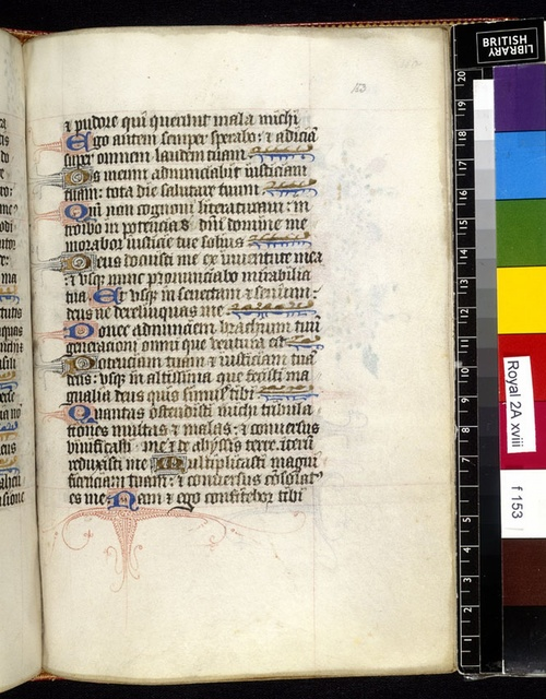Text page from BL Royal 2 A XVIII, f. 153