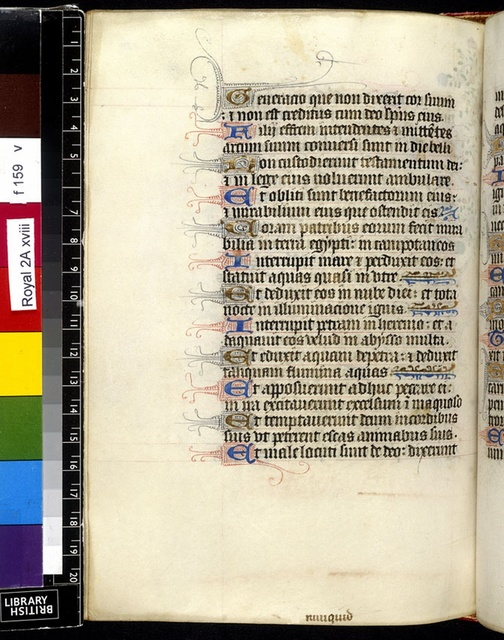 Text page from BL Royal 2 A XVIII, f. 159v