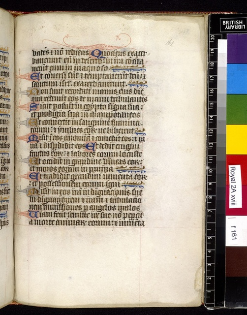 Text page from BL Royal 2 A XVIII, f. 161