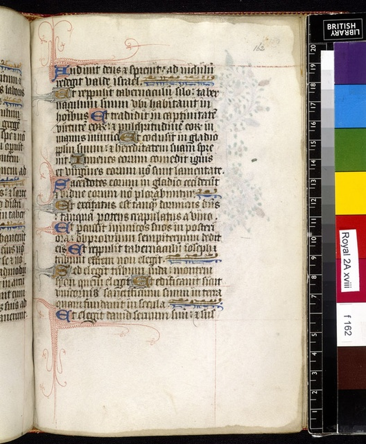 Text page from BL Royal 2 A XVIII, f. 162