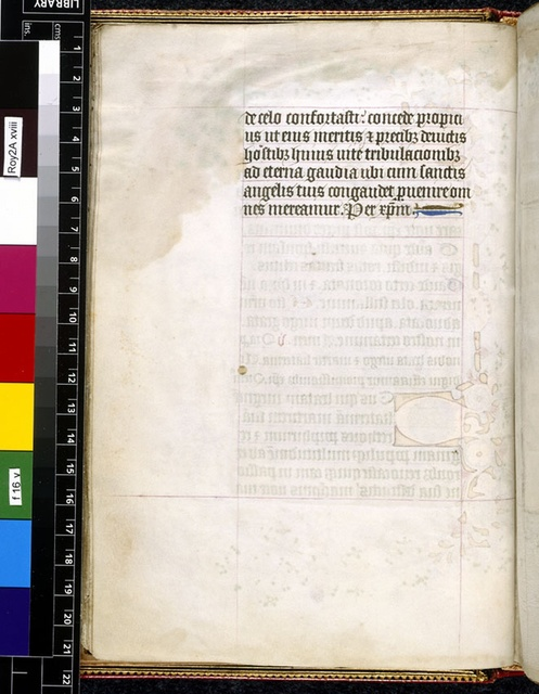 Text page from BL Royal 2 A XVIII, f. 16v