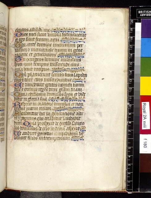 Text page from BL Royal 2 A XVIII, f. 180