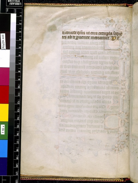 Text page from BL Royal 2 A XVIII, f. 18v