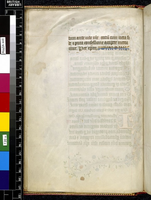 Text page from BL Royal 2 A XVIII, f. 20v