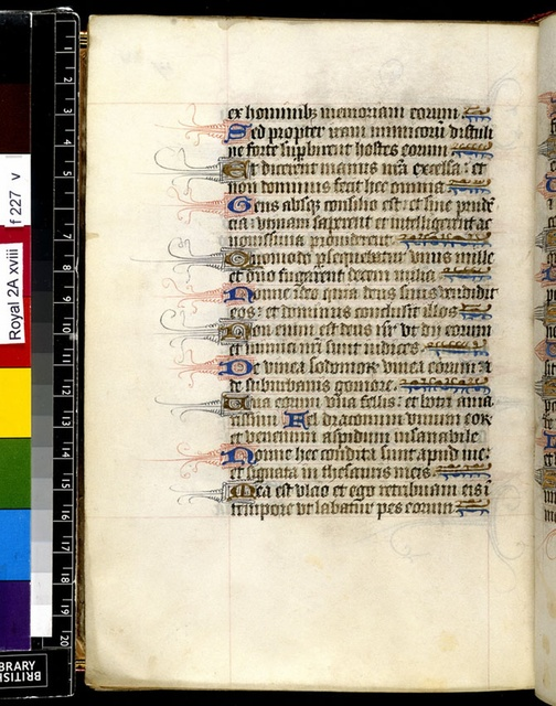 Text page from BL Royal 2 A XVIII, f. 227v