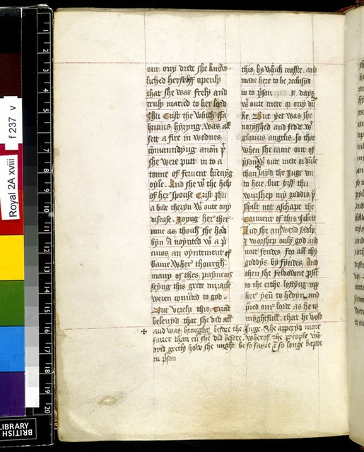 Text page from BL Royal 2 A XVIII, f. 237v