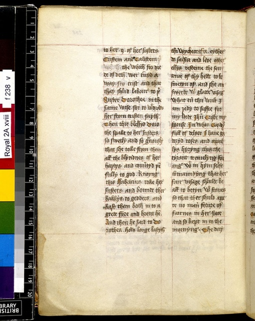 Text page from BL Royal 2 A XVIII, f. 238v