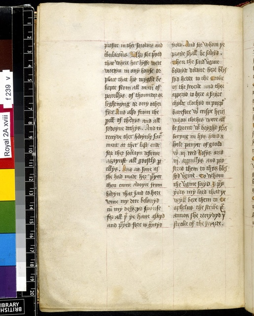 Text page from BL Royal 2 A XVIII, f. 239v