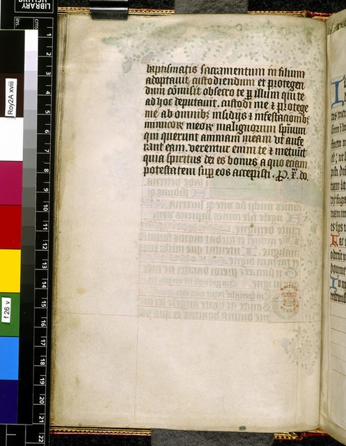 Text page from BL Royal 2 A XVIII, f. 26v