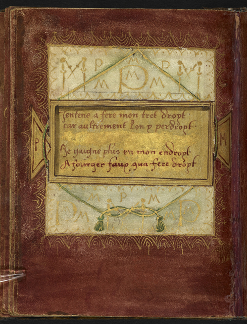 Text page from BL Stowe 955, f. 15v
