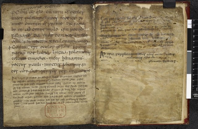 Text pages from BL Harley 2965, ff. 40v-41