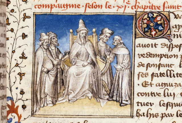 The High Priest from BL Royal 20 B IV, f. 100