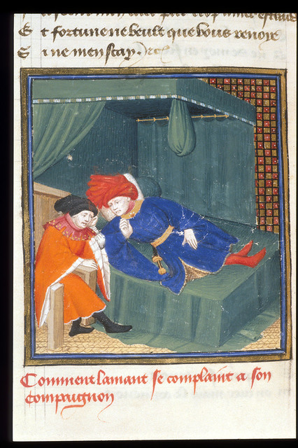 The Lover from BL Harley 4431, f. 154v