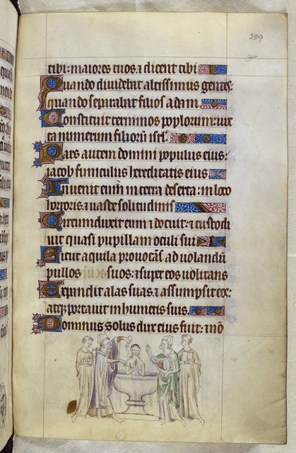 The mother of Thomas of Canterbury from BL Royal 2 B VII, f. 289