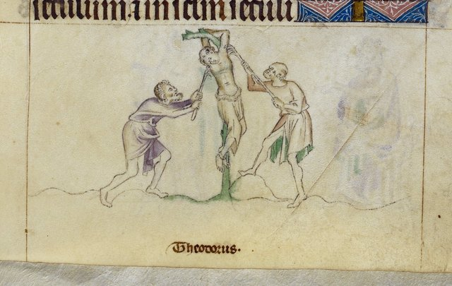 Theodore from BL Royal 2 B VII, f. 276