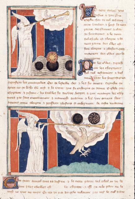 Third and fourth visions from BL Royal 19 B XV, f. 15