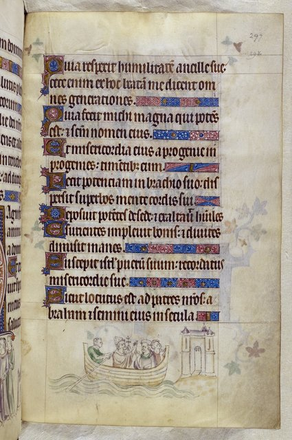 Thomas back to England from BL Royal 2 B VII, f. 297