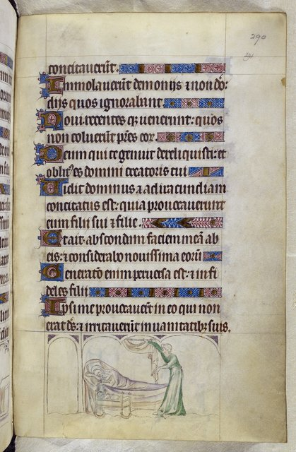 Thomas Becket from BL Royal 2 B VII, f. 290