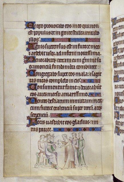 Thomas Becket from BL Royal 2 B VII, f. 290v