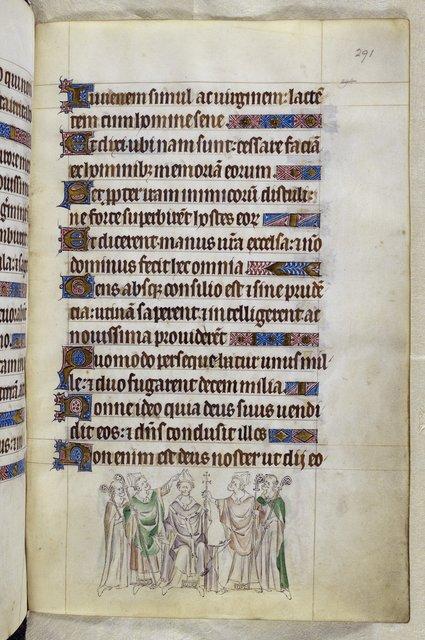 Thomas Becket from BL Royal 2 B VII, f. 291