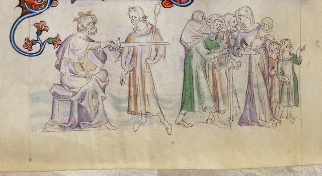 Thomas Becket from BL Royal 2 B VII, f. 292v