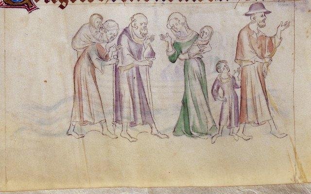 Thomas Becket from BL Royal 2 B VII, f. 293v