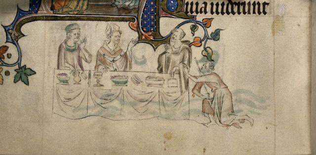 Thomas Becket from BL Royal 2 B VII, f. 297v