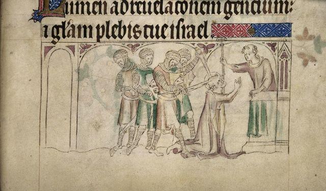 Thomas Becket from BL Royal 2 B VII, f. 298