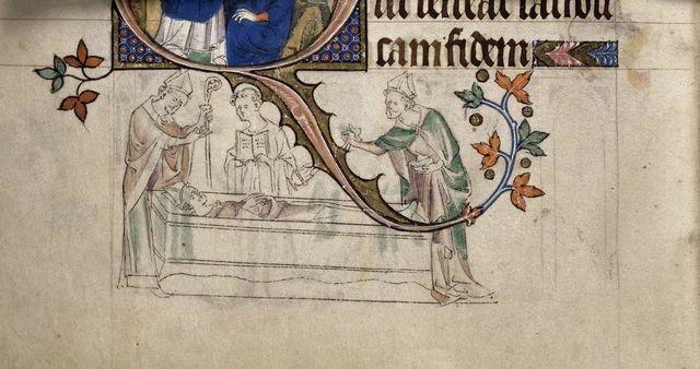 Thomas Becket from BL Royal 2 B VII, f. 298v