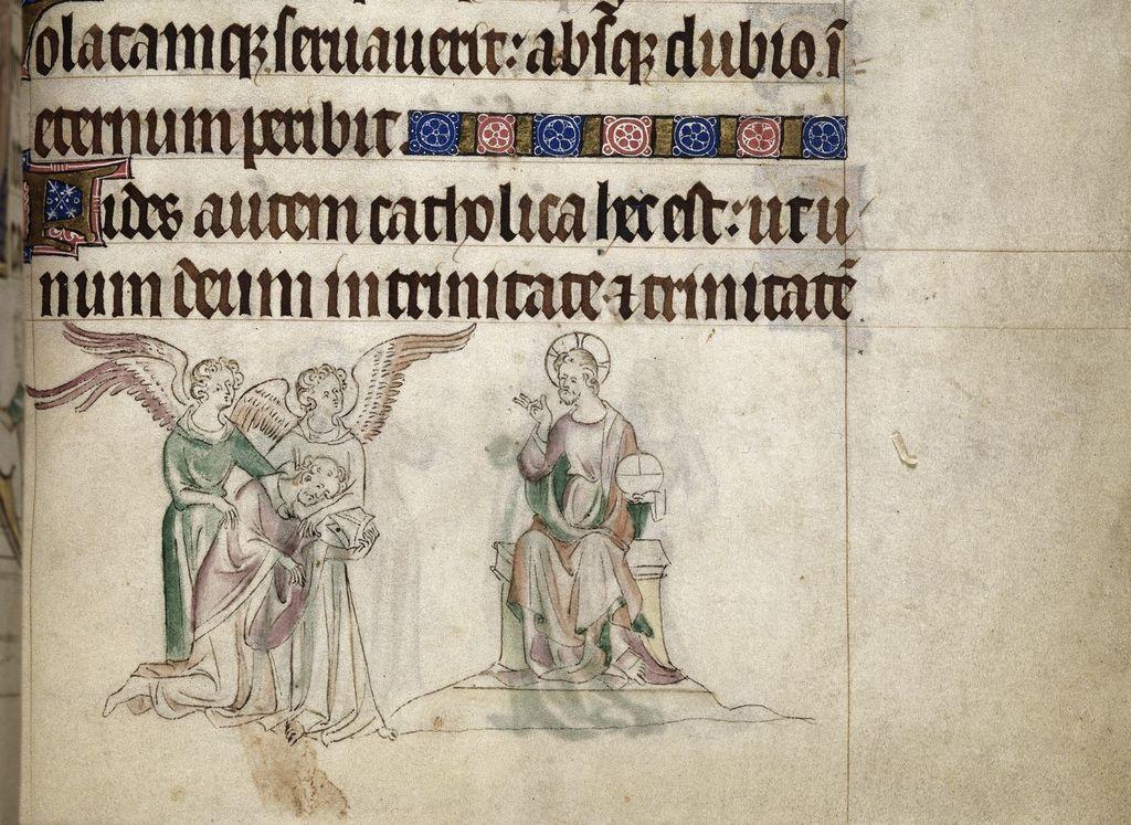 Thomas Becket from BL Royal 2 B VII, f. 299