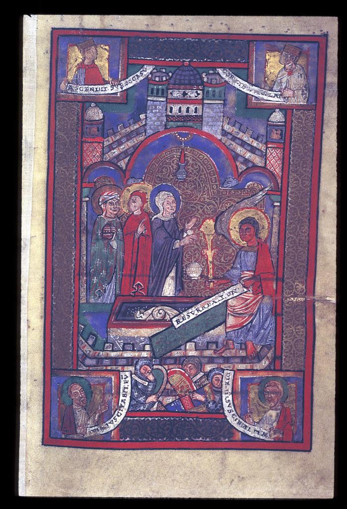 Three Holy Women from BL Lansdowne 381, f. 11