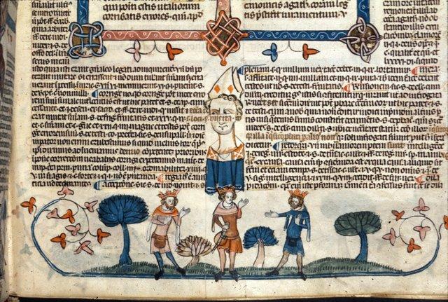 Three kings from BL Royal 10 E IV, f. 253