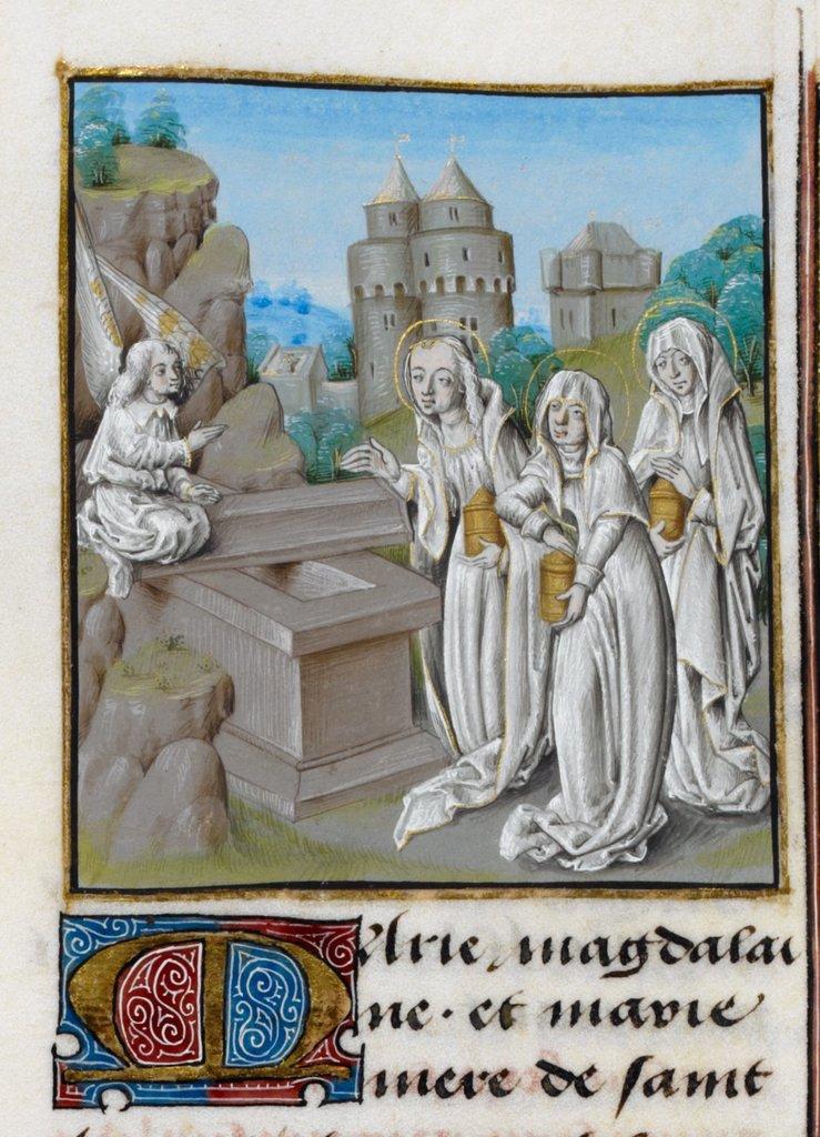 Three Maries from BL Royal 15 D V, f. 61