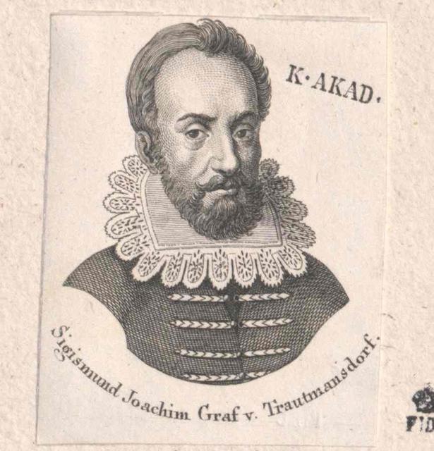 Trauttmansdorff, Sigmund Friedrich Graf von