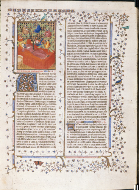 Tree of Jesse from BL Royal 15 D III, f. 170