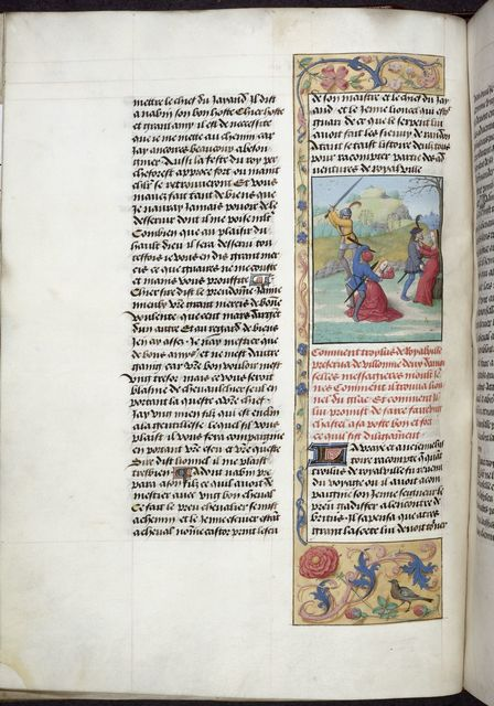Troilus from BL Royal 19 E III, f. 109v