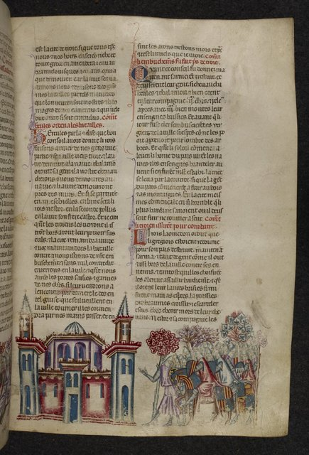 Troy from BL Royal 20 D I, f. 35