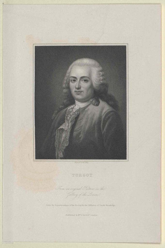 Turgot, Anne Robert Jacques Baron de L'Aulne
