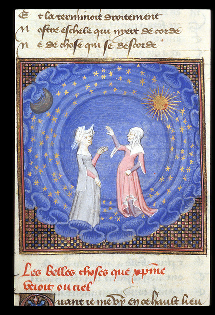 Two women from BL Harley 4431, f. 189v