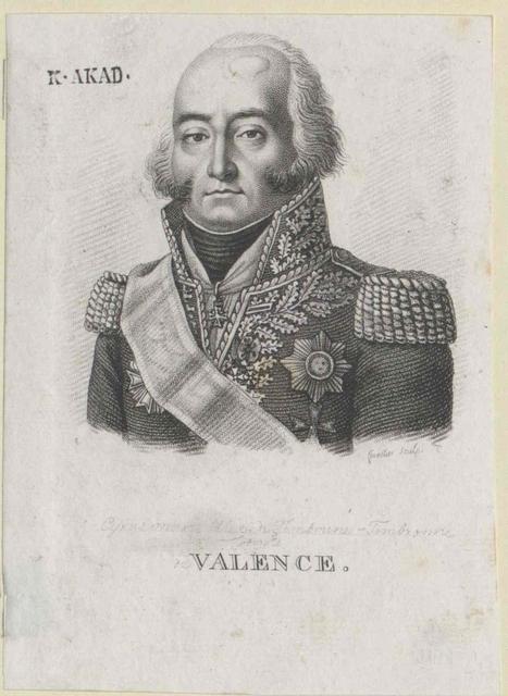 Valence, Cyrus Marie Alexandre Comte