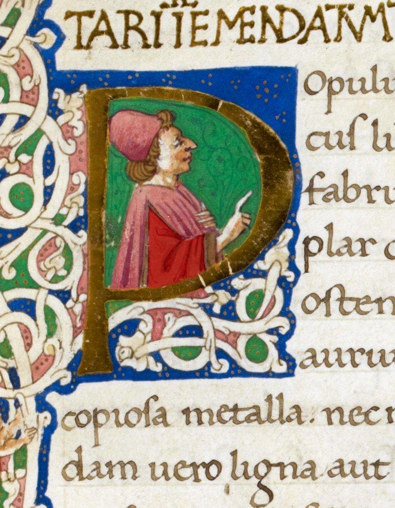 Vegatius from BL Royal 12 C XXII, f. 1
