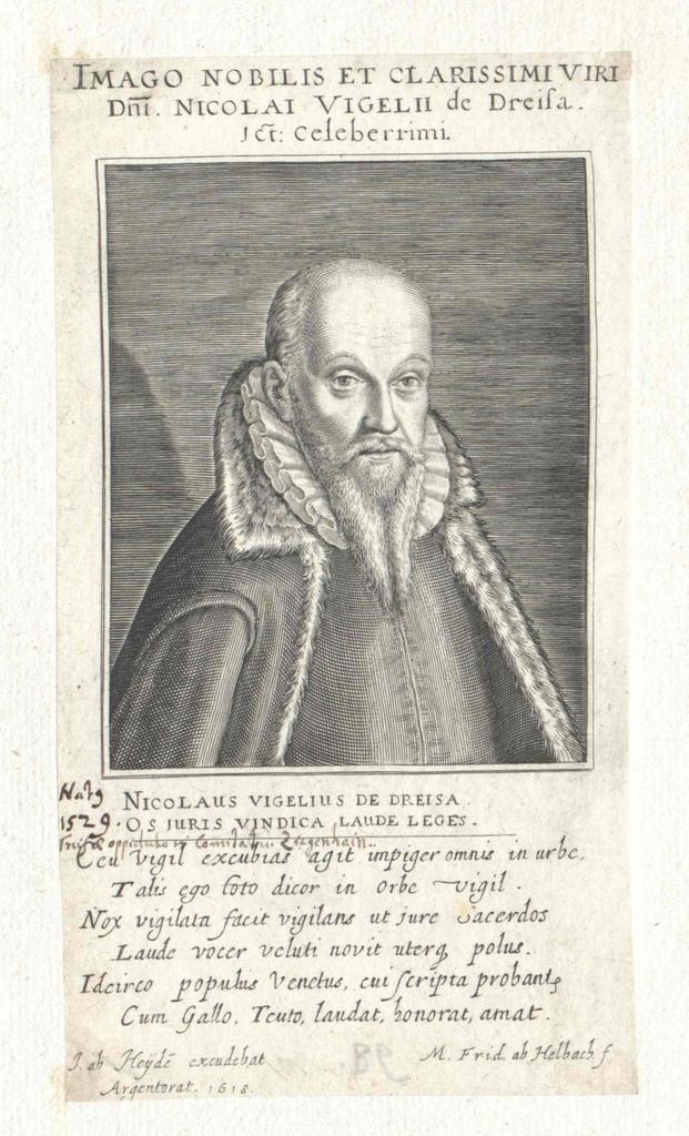 Vigelius, Nicolaus