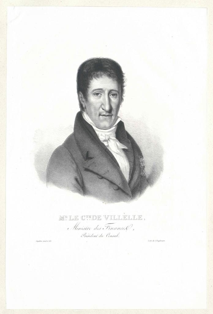 Villèle, Jean-Baptiste-Séraphin-Joseph, Comte de