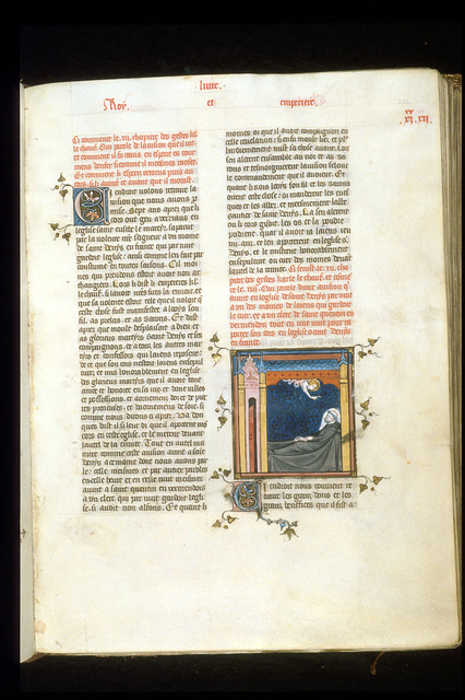 Vision of Charles from BL Royal 16 G VI, f. 234