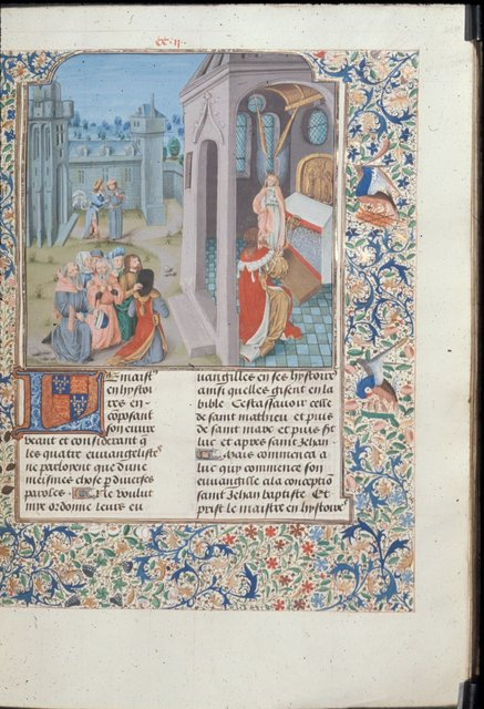 Vision of Zacharias from BL Royal 15 D I, f. 219